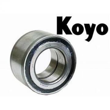 8 mm x 28 mm x 9 mm  KOYO 638-2RD Cojinetes de bolas profundas